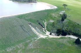 Dam Erosion in North California