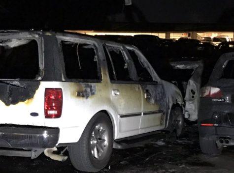 Disneyland Fire Destroys Nine Cars