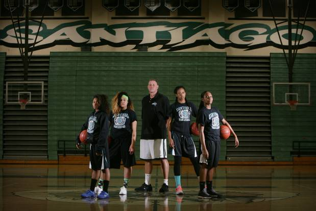 Santiago Girls' Basketball Victorious Over Corona – Shark ...