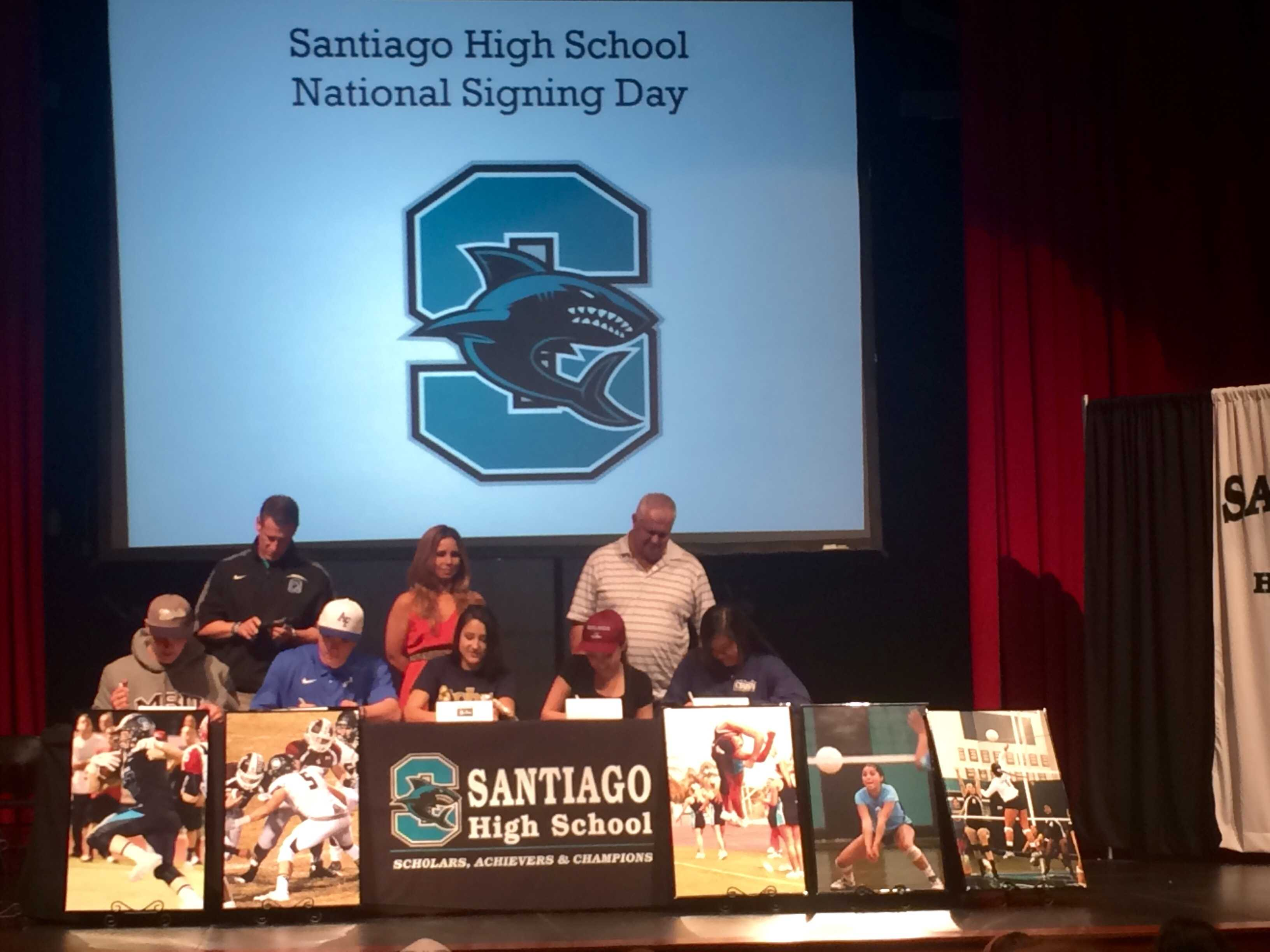 Santiago National Signing Day – Shark Attack