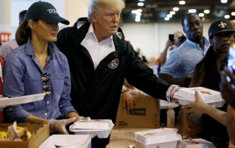 A Measured Response to Harvey by President Trump and First Lady