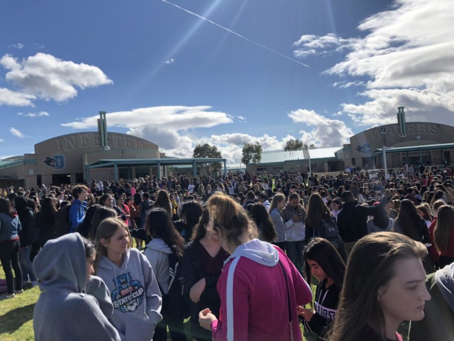 Santiago School Walkout