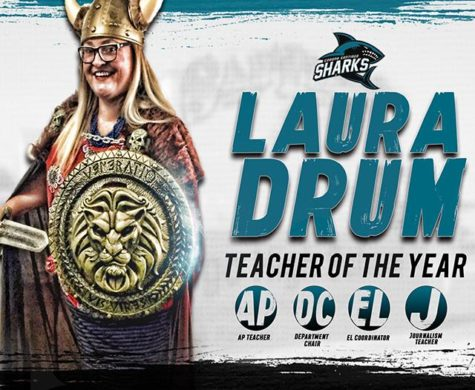 Laura Drum: Teacher of the Year
