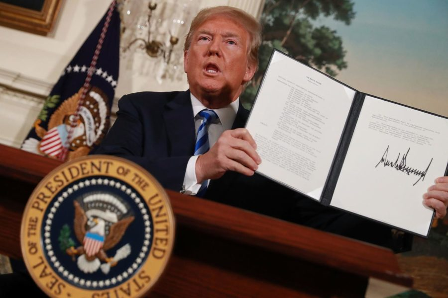 U.S. Withdraws from Iran Nuclear Deal