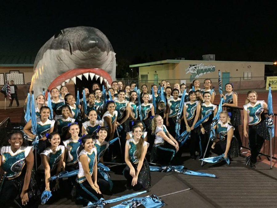 Behind the Scenes of the Marching Band Field Show