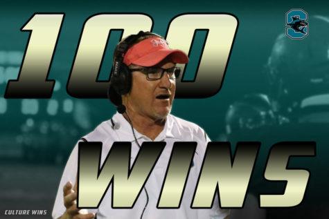 Coach Morrison Gets 100th Win