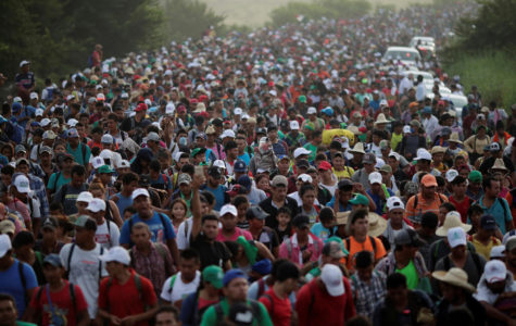 Migrant Caravan Approaches the United States
