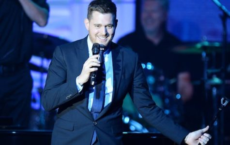 PHOENIX, AZ - APRIL 12:  Honoree and singer Michael Buble performs onstage during Muhammad Ali's Celebrity Fight Night XX held at the JW Marriott Desert Ridge Resort & Spa on April 12, 2014 in Phoenix, Arizona.  (Photo by Ethan Miller/Getty Images for Celebrity Fight Night)