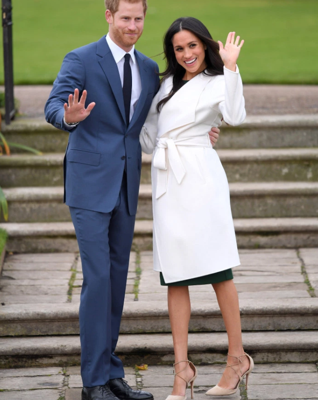 Prince+Harry+and+Meghan+Markle%27s+Pregnancy+Announcement