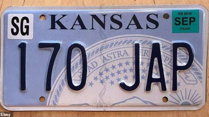 License Plates Recalled for Racism