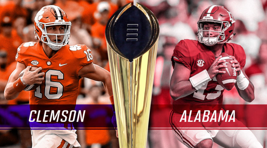 Alabama vs. Clemson - Round 3