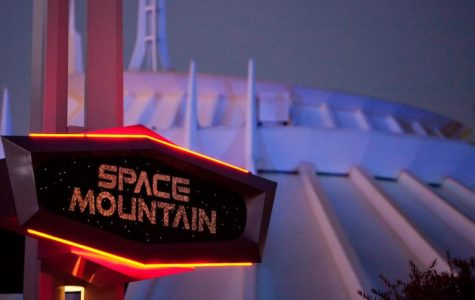Man Climbs Off Disneyland's Space Mountain