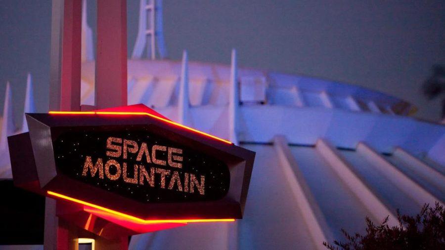 Man Climbs Off Disneyland's Space Mountain