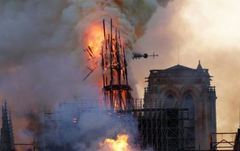 Fire at Cathedral Notre Dame de Paris