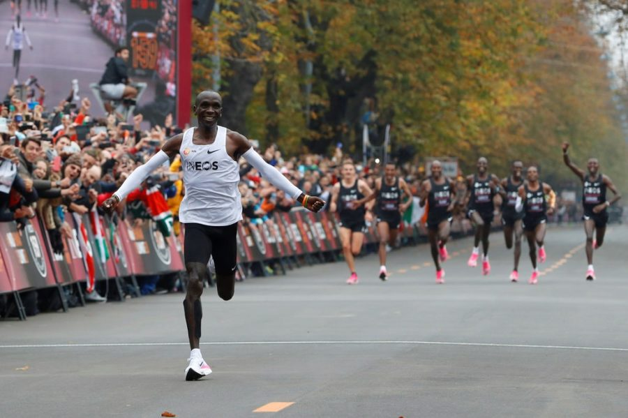 The 2-hour time barrier for the marathon is broken