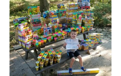Five Year Old Cancer Survivor Celebrates His Birthday by Donating His Toys