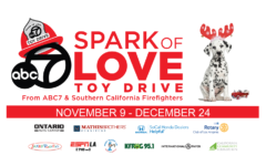 Corona Fire Department will now be collecting donations for the Spark of Love Toy Drive