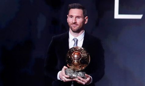 Lionel Messi Wins his 6th Ballon D'or