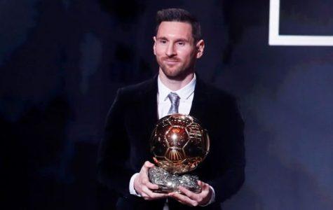 Lionel Messi Wins his 6th Ballon D'or