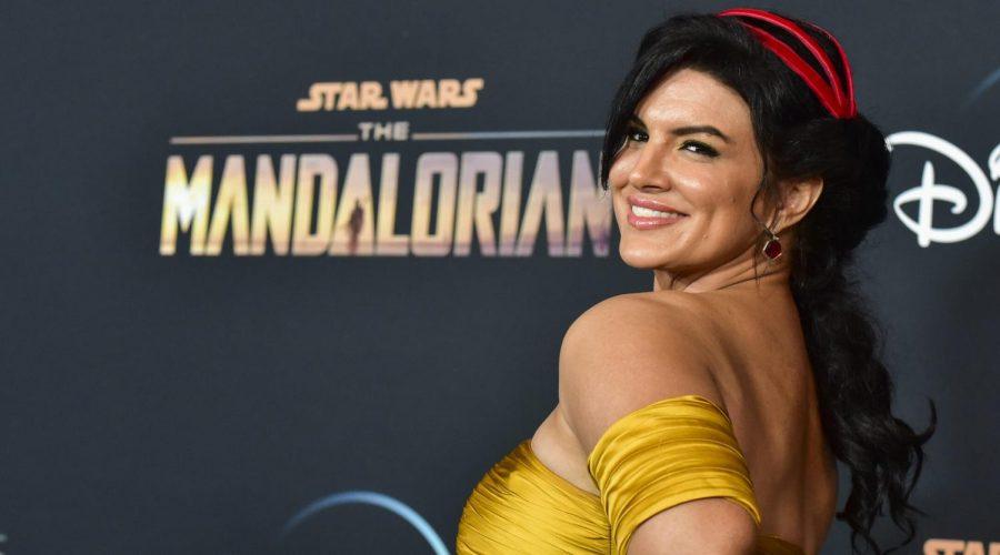 "Disney fire ""The Mandalorian"" star Gina Carano"