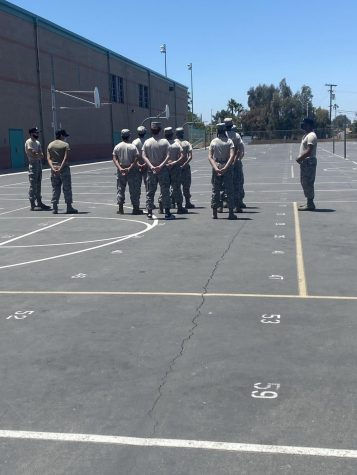 Santiago High School Afjrotc Air Force