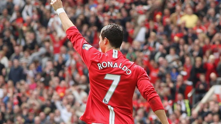 Cristiano Ronaldo's early success at Manchester United